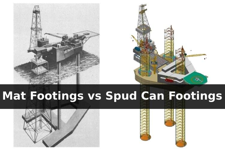 Mat-Footings-vs-Independent-Spud-Can-Footings