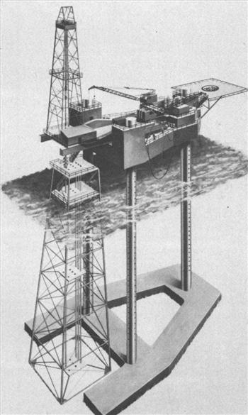 Figure 1 – Mat Footing Jack Up Rig