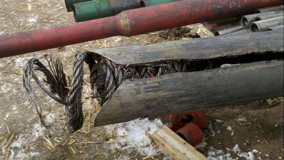 Figure 3 – Fishing Wireline in Hole, Dynastyenergyservices.net